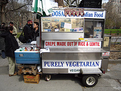 Dosa Foodcart Washington Sq Park by @superamit