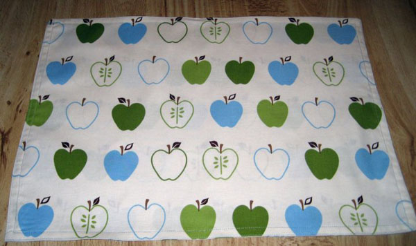 Homemade Placemats Step 12