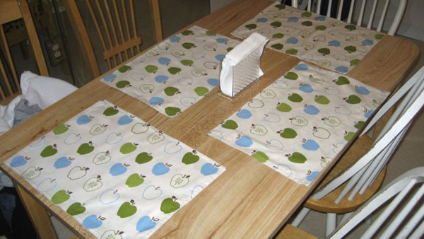 Homemade Placemats Step 14